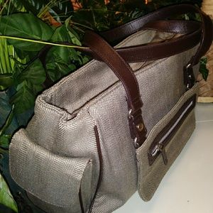 A Traveling Tweed Purse